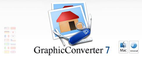 start9 gc7c GraphicConverter 7.4.1 in italiano da Italiaware