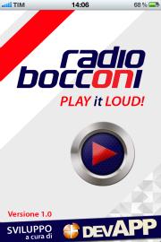 01 low Una App anche per Radio Bocconi