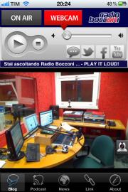 03 low Una App anche per Radio Bocconi