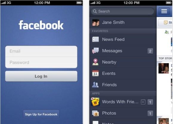 Schermata 12 2455899 alle 14.25.17 580x418 Lapplicazione ufficiale di Facebook si aggiorna risolvendo un particolare errore