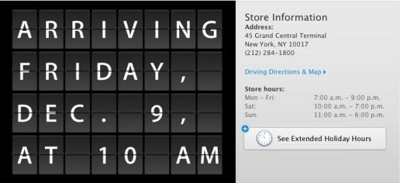 Schermata 12 2455901 alle 17.29.061 580x266 LApple Store Grand Central Terminal di New York inaugurerà venerdi 9 dicembre