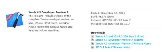 Schermata 12 2455909 alle 10.50.39 580x183 Apple rilascia iOS 5.1 beta 2 agli sviluppatori