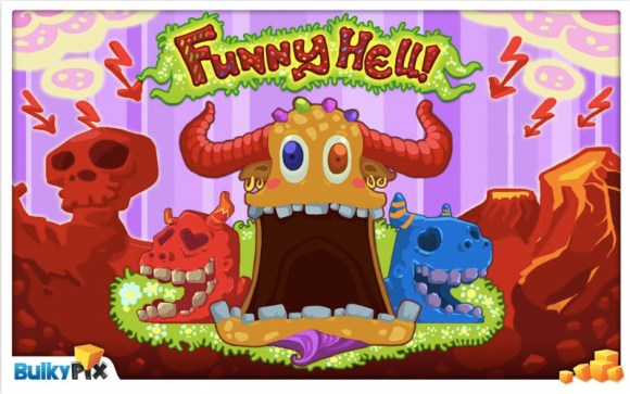 funnyhell 580x363 Funny Hell disponibile su App Store e Mac App Store
