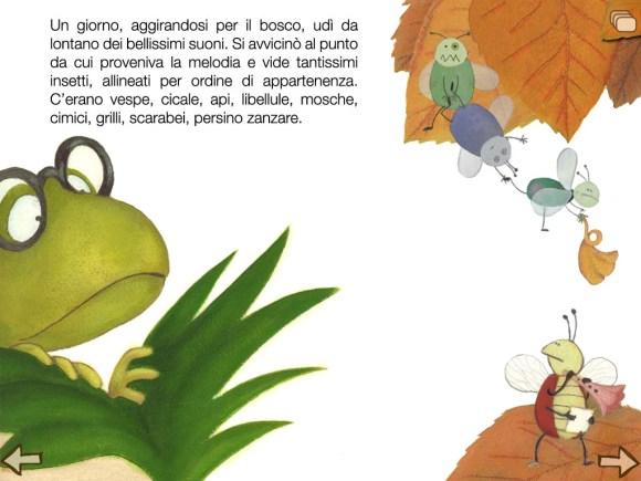 Lamusicadibufo screenshot04 580x435 La musica di Bufo, Libro per bambini dai 3 anni in su per iPad