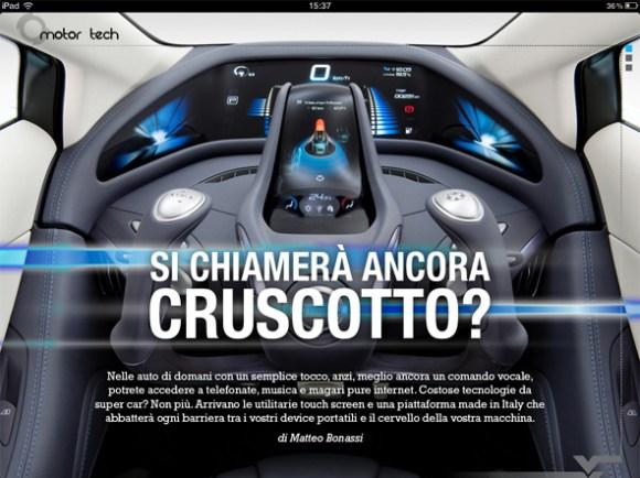 Motor tech 580x434 E uscito il nuovo numero di You Tech Magazine per iPad
