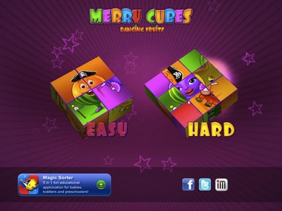 merry cubes 1 Merry Cubes HD, unApp divertente per i più piccoli.