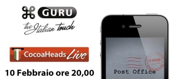 PostOfficeteaser 580x256 Ritorna il CocoaHeads Live! UnApp in una notte.