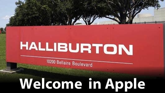 halliburton italiamac1 Apple acquisisce un nuovo cliente a spese di RIM.