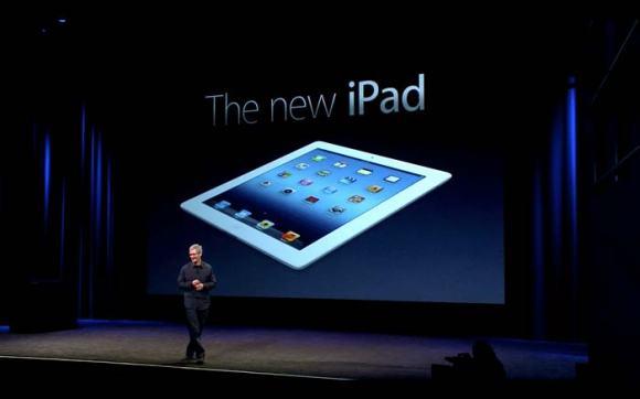 the new ipad apple keynote 580x362 NellEra post PC, Apple domina.