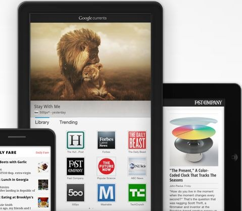 Google Currents Google Currents diventa internazionale