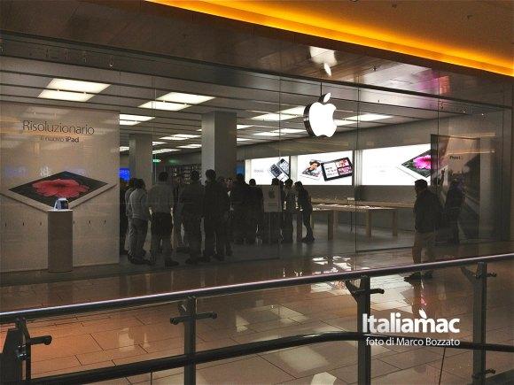 apple store roma 2 580x435 Gita allApple Store Porta di Roma, le foto di un lettore