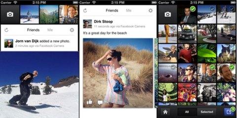 Facebook camera Facebook Camera: Lapplicazione ufficiale per iOS in stile Instagram