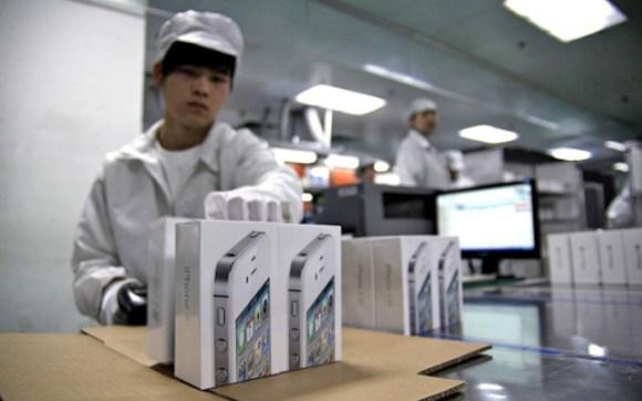foxconn iphone 580x362 Uno sguardo allinterno della fabbrica di iPhone di Foxconn