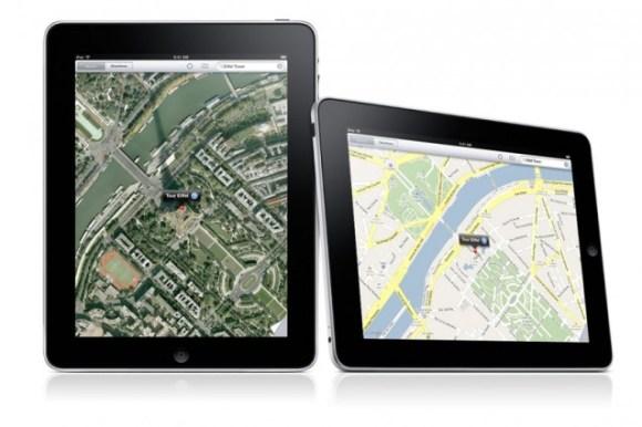 google maps ipad 638x425 580x386 Apple Maps 3D in arrivo questa estate? Ecco come potrebbe essere!