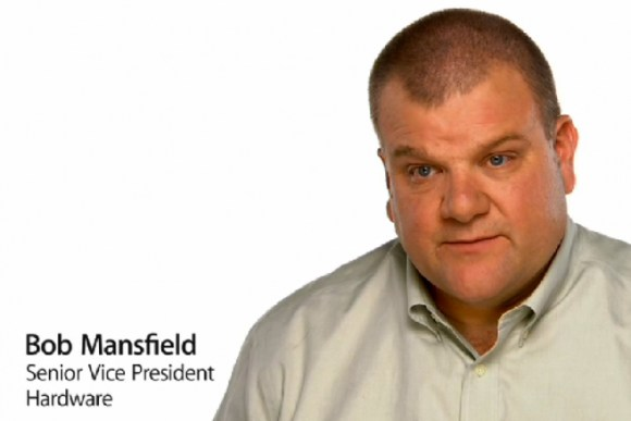 bob mansfiled 580x387 Bob Mansfield, capo hardware di Apple, sta per andare in pensione