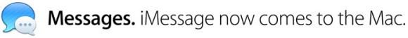 imessage 580x54 OS X Mountain Lion, le principali funzioni del nuovo sistema operativo per Mac