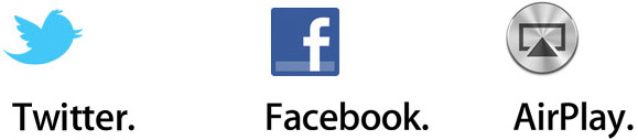 twitter facebook airplay OS X Mountain Lion, le principali funzioni del nuovo sistema operativo per Mac