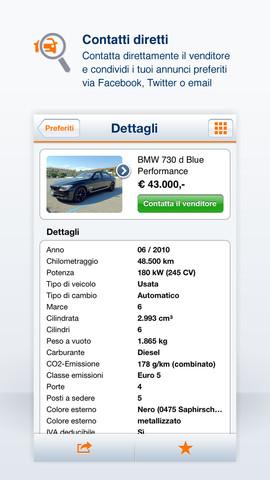 autoscout24 Da oggi con la app di AutoScout24 puoi caricare le foto senza passare dal web