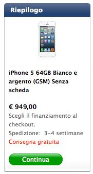 carrelloiphone5 Wired.it prova a spiegare la differenza di prezzo delliPhone in Italia
