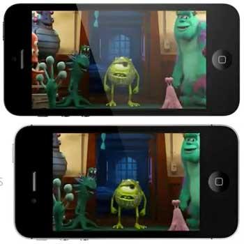 iphone4inch Lo schermo del nuovo iPhone da 4 pollici in azione nel video di MacRumors