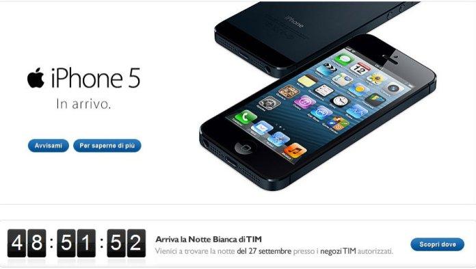 tim2 Notte bianca iPhone 5 anche per Vodafone e Tim: Ecco tutti i negozi aperti fino alle 2