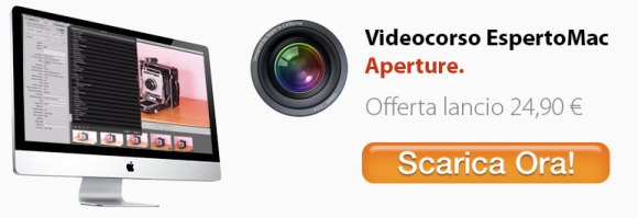 corso aperture 580x199 Impariamo Aperture con il Videocorso di BuyDifferent, a soli 24,90 euro