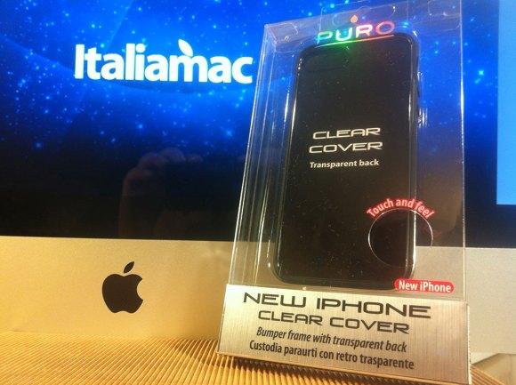 puroclearcovernera04 580x433 Cover iPhone 5 di Puro: Abbiamo provato la Clear e la Soft