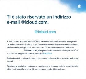 Mail Apple Apple inizia la migrazione delle email @me.com a @icloud.com