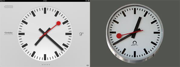 orologio svizzero ios Apple ha pagato 17 milioni di euro per utilizzare l'orologio delle Ferrovie Federali Svizzere in iOS 6?