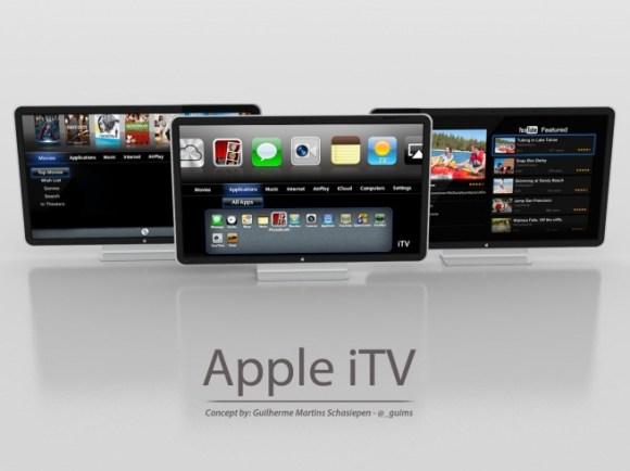 apple itv 580x434 La Apple TV (o iTV) potrebbe arrivare nel 2013 in collaborazione con Sharp, lo dice anche il Corriere