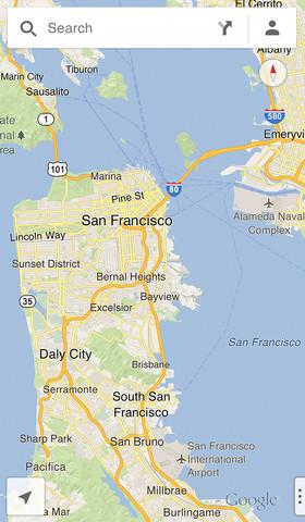 c320x480 75 Le mappe di Google tornano su iOS, con una app dedicata