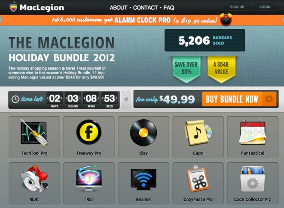 maclegion 580x424 MacLegion, il bundle con 11 app per Mac a soli $ 49,99, ma scade presto