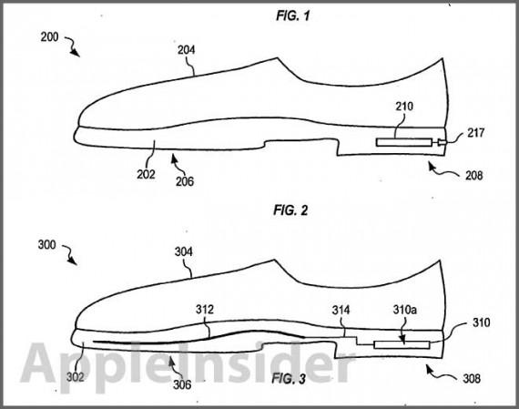 Brevetto SmartShoes Apple brevetta le Smart Shoes: Scarpe intelligenti che ti avvisano quando sono da cambiare
