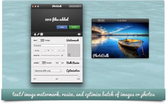 photobulk 2 580x362 Ridimensiona, ottimizza e metti il watermark alle tue foto con PhotoBulk