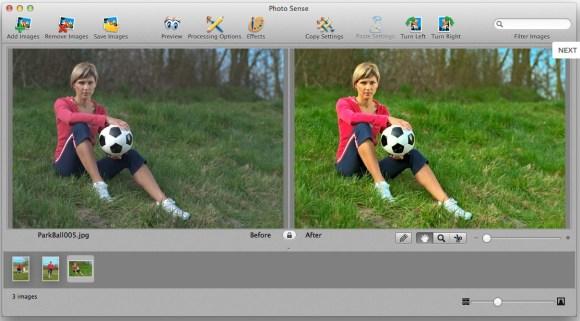 photosense3 580x321 Photo Sense, migliora e applica effetti alle tue foto automaticamente