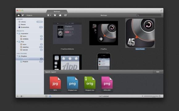 pixa3 580x362 Pixa, organizza e gestisci le tue immagini in modo comodo e pratico