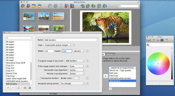 resize sense 04 580x320 Con Resize Sense per Mac ridimensionamento e trasformazione in batch diventano flessibili
