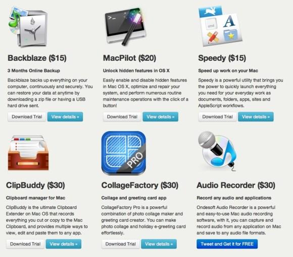 bundleecious 580x508 Aggiornato * Bundleecious, 9 app per Mac a soli $9,99 comprese MacPilot e Speedy