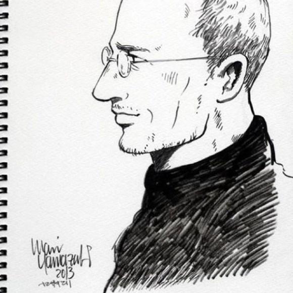 manga steve jobs completo 580x580 In Giappone la biografia ufficiale di Steve Jobs diventa un manga