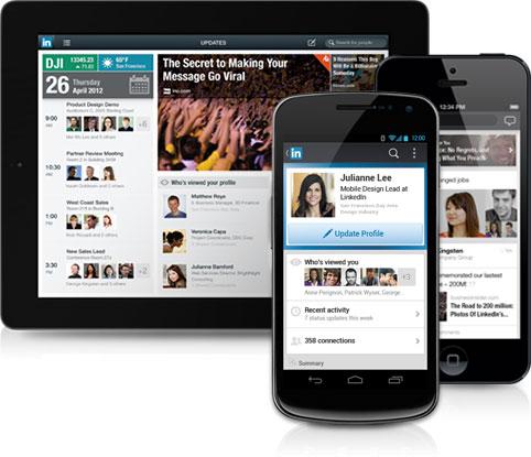 Linkedin aggiorna e ridisegna le sue app iOS e Android Restyling grafico per lapp iOS di LinkedIn
