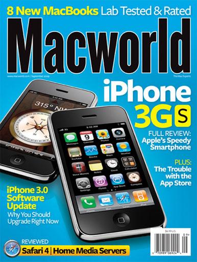 Copertina Macworld - Settembre 2009