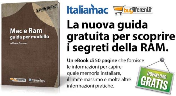ebookramnl 620x340 La guida definitiva sulla RAM per Mac. eBook gratuito di Italiamac e BuyDifferent