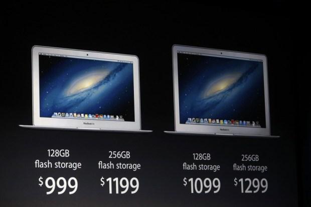 MacBook Air Prezzo e Flash Storage 620x413 Ecco il nuovo MacBook Air: Fino a 12 ore di autonomia in poco più di 1 kg
