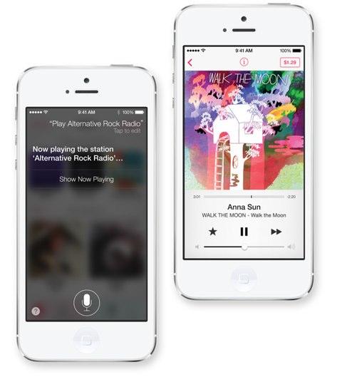 Siri e iTunes Radio Apple annuncia iTunes Radio, disponibile in Autunno