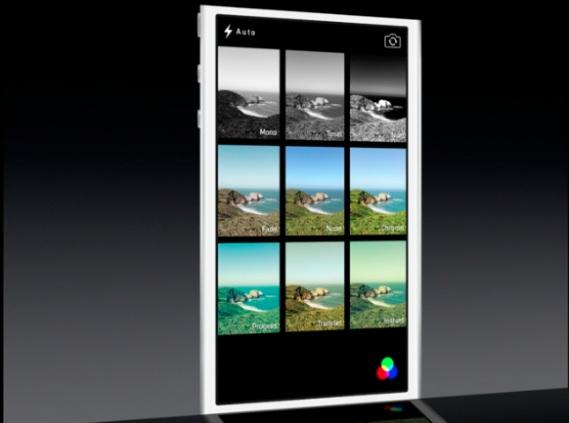 filtri fotografici in iOS 7 Apple presenta iOS 7, una carrellata delle novità più importanti