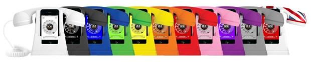 ice phone colours 620x125 Ice Phone: Trasforma il tuo iPhone in un telefono retrò