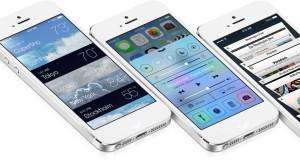 iOS 7 sull'iPhone 5