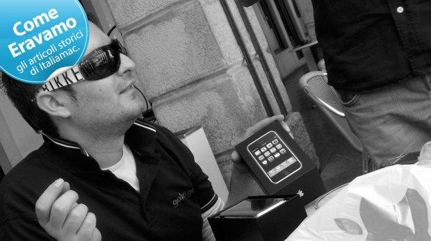 Come Eravamo iPhone 1G Unboxing Gabriele 620x347 Come eravamo, la nuova sezione di Italiamac per fare un tuffo nel passato e riscoprire le nostre radici