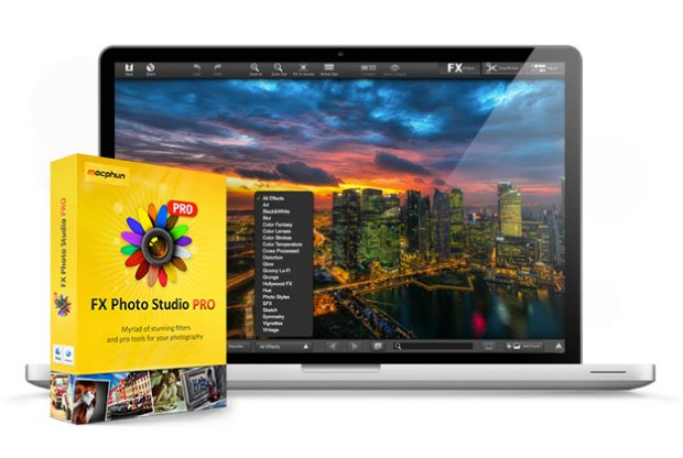 photostudiomac 620x416 Con Italiamac il 25% di sconto sul nuovo Fx Photo Studio PRO per Mac