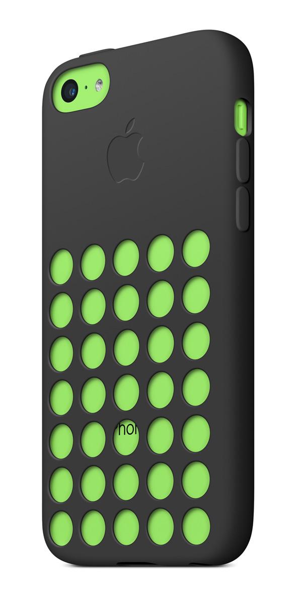 cases gallery threequarterback green black [Galleria] Apple presenta il nuovo iPhone 5c, diamo uno sguardo al nuovo stile colorato made in Cupertino